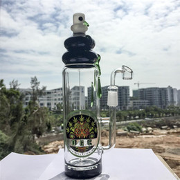 Botellas De Vidrio De Color Baratos-2016 Nuevo Bong De Vidrio Botella De Perc En Botella De Cristal Bongs 14.5mm Unión Femal Coloreado De Equipo De Petróleo Headshop Bongs Tubo De Agua DGC1205