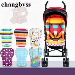 Coussin Coussin Assise Pas Cher-Vente en gros - Hot Selling Multi Color Baby Roller Pad, 2016 Nouveau Thick Colorful Dot Baby Infant Car Seat Cushion, Colorful Infant Carriage Mat