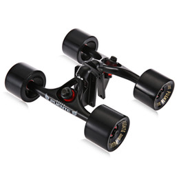 Chinese  2pcs   Set Skateboard Truck with Skate Wheel Riser Pad Bearing Hardware Accessory Installing Tool for Skateboard New Arrival +B manufacturers