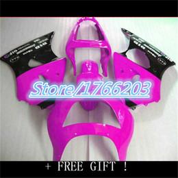 ZX9R NINJA ZX 9R 2002 2003 Rose Black ZX9 R 02 03 Pink Blue BLK Fairing Kit
