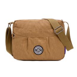$enCountryForm.capitalKeyWord Canada - Wholesale- New Women Messenger Bags Crossbody Bag Nylon Waterproof Shoulder Bag Designer Handbags High Quality Ladies Kiple Dollar Price