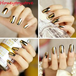 Ongles Patch Or Pas Cher-2017 Beauty Women Ladies Smooth Gold Silver Black Patch Foils Wraps Nail Art Salon Sticker Tips DIY Décorations