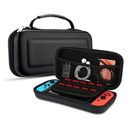 hard carry case for nintendo 2018 - For Nintendo Switch Carrying Case Protective Nylon Gamepad Hard Shell Bag Deluxe Travel Case for Nintendo Switch Joy-Con