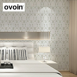 Modern Floral Plaid Trellis Nature Wallpaper Cream White Wallpaper Lattice  Geometric Linen Grasscloth Wall Paper For Bedroom
