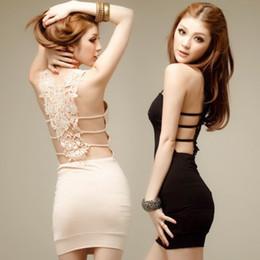 $enCountryForm.capitalKeyWord Australia - High Quality Sexy black condole belt skirt dress skirt cultivate one's morality dinner suit club dresses free shipping
