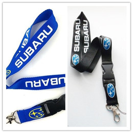 car style cell phones UK - Hot Sale! 30pcs World Cars Designed Style Lanyard,Keychain ID Holder Lanyard,Cell Phone Neck Strap Lanyards With Buckle fukuan
