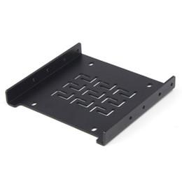 $enCountryForm.capitalKeyWord UK - Wholesale- 2.5'' SATA SSD to 3.5'' SATA HDD Transfer Rack Trayless Mobile Rack for Hard Disk Driver Metal Material