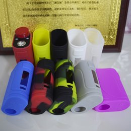 box 25 Canada - Istick Pico 25 Kit 85W Box silicone Case Colorful Rubber Sleeve Protective Cover Skin For Eleaf Istick Pico 25 kit VS Ailen AL85 DHL free