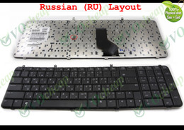 original notebook laptop Canada - New and Original Notebook Laptop keyboard for HP Compaq Presario A900 A909 A945 Black RUssian RU Version - 462383-251, V080502AS1
