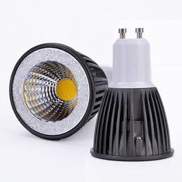 $enCountryForm.capitalKeyWord NZ - New High Power CREE MR16 GU10 E27 5W 7W Black LED COB spotlight lamp bulb warm cool white AC 85-265V CE ROHS UL
