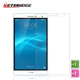 $enCountryForm.capitalKeyWord Canada - Wholesale- Tempered Glass For Huawei Mediapad T2 Pro 10 Tablet PC Screen Protector Film 2.5D Edge 9H Transparent Ultra-thin Tablet Glass