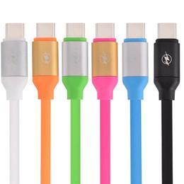 $enCountryForm.capitalKeyWord NZ - 1.3M Fast charging Aluminium Alloy Type C Type-C usb data charger cable for Macbook Nexus 6P 5X Huawei P9 ZUK Z1