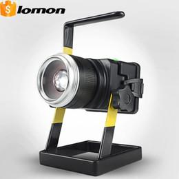 Светодиодный прожектор водонепроницаемый мобильный ночной сад работает портативный свет перезаряжаемые многофункциональный фонарик на открытом воздухе Факел автомобильное зарядное устройство на Распродаже