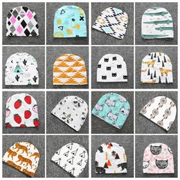 $enCountryForm.capitalKeyWord Canada - Kids Ins Xmas Beanie Ins Animals Christmas Hats Newborn Cartoon Fashion Caps Girl Fox Beanies Baby Print Cotton Caps Panda Tiger Hats F412