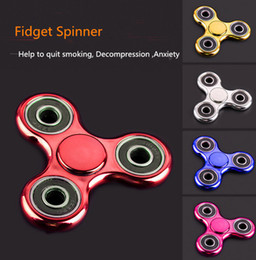 mixed spinner 2018 - Mix color Fidget Spinner EDC Fidget Cube Hand Spinners Torqbar Brass For Decompression Anxiety Finger Toys For Killing T