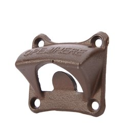 China LJ-120 Vintage Iron Wall Mounted Openers Wine Beer Soda Glass Cap Bottle Opener Kitchen Bar Gift Kitchen Tools suppliers