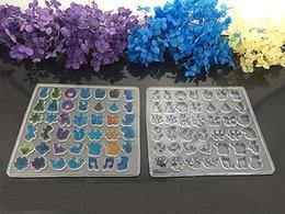 Мульти дизайн ясно силиконовые формы для изготовления ювелирных Стад серьги DIY плесень смолы литья смолы формы для ювелирных изделий