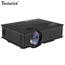 Projector Wifi Support Canada - Wholesale-UC46 Wifi Wireless Projector 1200 Lumens MINI Portable LED Proyector Home Theater Beamer Support USB AV SD VGA HDMI