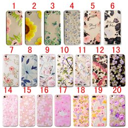 Peach iPhone online shopping - For iPhone XS Max XR X S Plus Cherry Rose Peach Penoy Flowers Sunflower Birds Fish Scrub Matte Soft TPU Cover Case