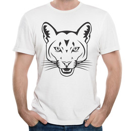 T-shirt per uomo Moda New Tiger Head T-shirt uomo stampato manica corta O-Collo Tops Tees Sports 6 T-shirt per uomo