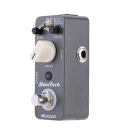 Mooer Pedals Australia - Mooer Shim Verb Micro Mini Digital Reverb Effect Pedal for Electric Guitar True Bypass High Quality Guitar Parts & Accessories