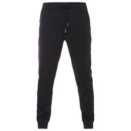 Mens capris wholesale online shopping - Plus Size XL New Casual Pants Mens Long Pants Elastic Waist Loose Sweat Pants For Men Casual Trousers homme