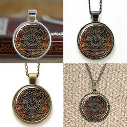 Seven link online shopping - 10pcs The Seal of the Seven Archangels and Olympic Spirits Necklace keyring bookmark cufflink earring bracelet