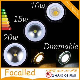 $enCountryForm.capitalKeyWord NZ - LED Downlight COB Dimmable 10W 15W 20W LED COB Panel Light AC110-240V Recessed COB Downlight Glass Cover LED Spot bulb with driver