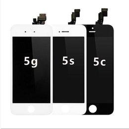 Tela Completa para o iphone 5 screen display lcd frete grátis para iphone 5 touch digitador com frame assembléia completa substituição venda por atacado
