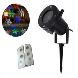 Laser Lights designs online shopping - RGBW designs Auto Moving designs xmas halloween stage Lights Outdoor Waterproof Projection Lights LED laser lighting projector