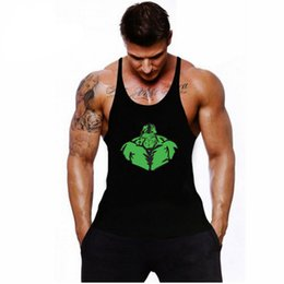Sexy Workouts Clothes Canada - Gyms Bodybuilding Tank Top Stringers Sexy Shirt,Muscle Hulk Sleeveless Fitness Men's Singlets workout Clothes