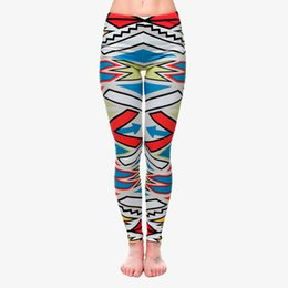$enCountryForm.capitalKeyWord Canada - Women Leggings Multi-Color Graphic Print Lady Skinny Stretchy Yoga Wear Pants Girl Workout Full Length Colorful Pattern Trousers (J32309)