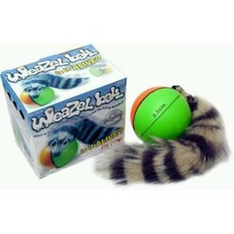 Barato Brinquedos Divertidos-Brinquedo de cachorro Popular New Dog Cat Weasel Ball Motorized Rolling Ball Funny Pet Chaser Jumping Diversão Movendo brinquedos de brinquedos vivos CCA6702 50pcs