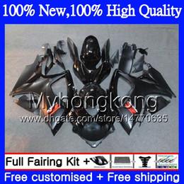 Gsxr fairinG red white online shopping - Gloss black Body Motorcycle For SUZUKI GSX R600 K6 GSX R750 GSXR MY21 GSX R600 GSXR750 GSXR GSXR600 Fairing