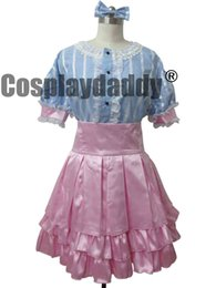 Barato Trajes Cosplay Cor Azul-SUPERSONICO Sonico Cosplay Costume Blue pink color