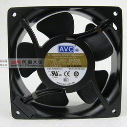 Free Shipping NEW For AVC D7KB1238BBH5WAT Cabinet Cooling Fan 230V 50 60Hz  0.07A 120x120x38mm 2 Inserts 2750 3200 RPM