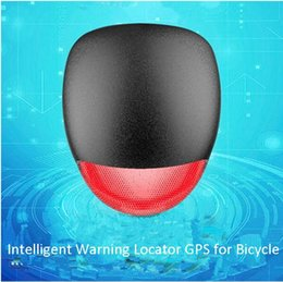 Car Positioning Canada - anti dust Anti lost waterproof gps tracker bike tail light 3 flashing modes remote voice monitoring wifi long battery life GPS+LBS position