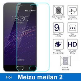 Discount meizu phones - 0.26mm Safety Screen Protector On Mobile Phone Tempered Protective Glass Film For MEIZU M2 Mini meilan2 meilan 2 M578M 5
