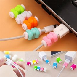 butterfly usb cable protector cord saver case cover colorful sleeve cables charger wire cord protective cover