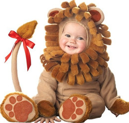 Barato Menino, Menina, Fantasia, Vestido-New Baby Boys Girls Toddler Animal Halloween Xmas Party Fancy Dress Costume Jumpsuit