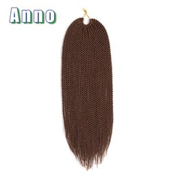 Ombre Kanekalon Jumbo Braid Hair UK - ANNO Hair Synthetic Braids Hair Extensions Senegalese Twist Ombre Kanekalon Jumbo Braiding Hair