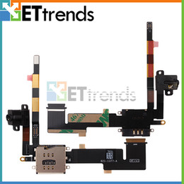 Wholesale Original New SIM Card Deck Flex Cable for iPad Replacement by DHL AD1181