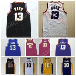 ... 2017 Basketball 13 Steve Nash Jersey 10 Men Throwback Santa Clara  Broncos 11 Steve Nash College ... 7d9bdc1ba