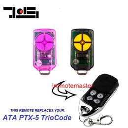 AtA lock online shopping - For ATA PTX V1 TrioCode compatible Remote Control PTX5 garage door opener