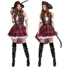Robe De Fille Sexy Pas Cher-Sexy Ladies lingerie cosplay Pirate Wench Roleplay Halloween Fancy Dress costume P1626 ONE SIZE S-L
