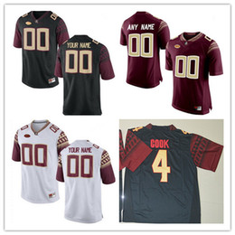 Custom Mens Florida State Seminoles College Football Limited white red  black Personalized Stitched Any Name Number 265b04ef6