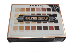 lorac mega pro eyeshadow 2021 - Newest Mega LORAC PRO 3 Palette Eyeshadow 32 Color Eye Shadow Palette Blush Eyeshadow Makeup Cosmetic Palette from Top quality