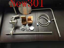 Steel Drawings Canada - 2017 best selling new 301 new full shower, pure manual polishing stainless steel wire drawing, Spain spool, multifunctional water outlet.