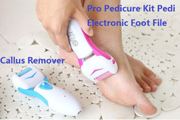 $enCountryForm.capitalKeyWord NZ - Pro Pedicure Kit Pedi Electronic Foot File Hard Dead Skin Care Callus Remover Rechargeable Pedicure tools