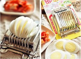 $enCountryForm.capitalKeyWord NZ - kitchen wires Egg Slicer dividers Stainless Steel cutter for hard boiled eggs Perfect for making salad and garnish slicer tool H140